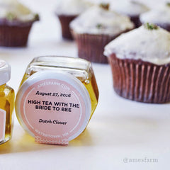 Dandelion and Dutch Clover Honey Cupcakes