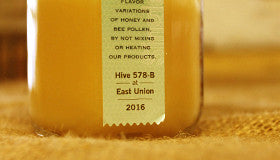 Raw Single Source Honey