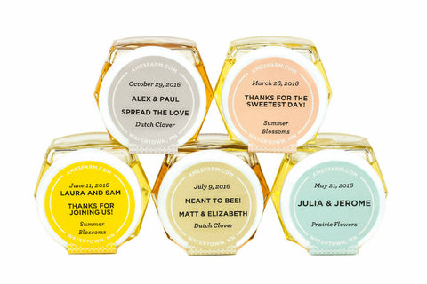 Free Personalized Honey Favor Samples