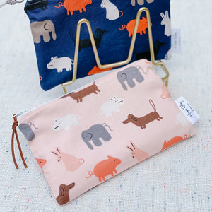 """Animal"" Organic Reusable Snack Bag, GOTS Certified Organic"