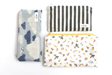 Load image into Gallery viewer, 100% Cotton Reusable Snack Bag