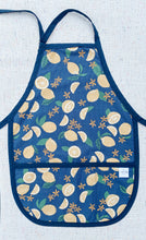 Load image into Gallery viewer, Lemons 100% Linen Toddler Apron