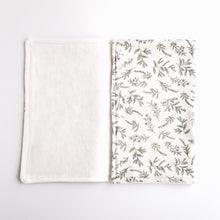 Load image into Gallery viewer, 100% Cotton Burp Cloth with GOTS Certified Organic Terry Cotton