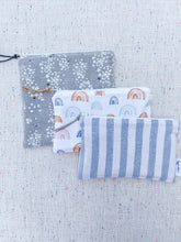 "Load image into Gallery viewer, ""The Cool Nights"" - Set of 3 Reusable Snack Bags"