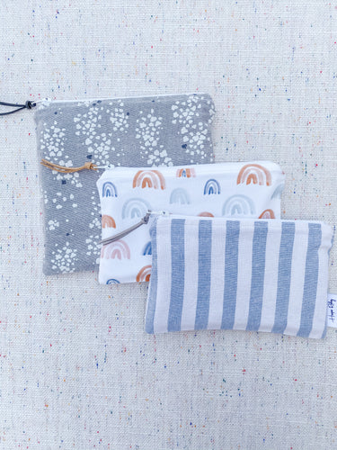 """The Cool Nights"" - Set of 3 Reusable Snack Bags"