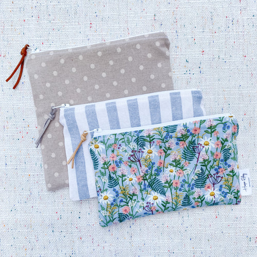 """The Summer Breeze"" - Set of 3 Reusable Snack Bags"