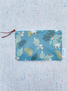 Tropical Monkey 100% Cotton Reusable Snack Bag