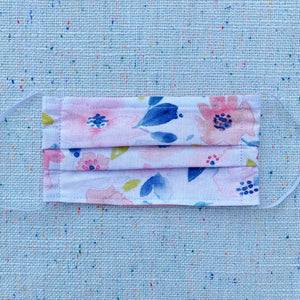 Soft Floral Non-medical Cloth Face Mask