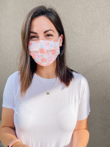 Ballerina Pink Dots Non-medical Cloth Face Mask