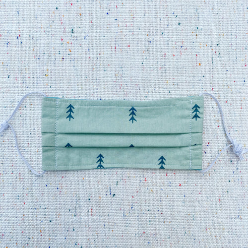 Green Pine Trees Non-medical Cloth Face Mask