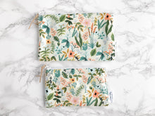 "Load image into Gallery viewer, ""The Lyla"" 100% Cotton Reusable Snack Bag"
