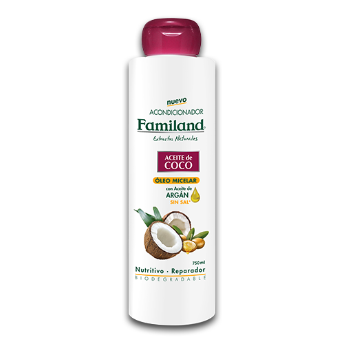 Acondicionador Aceite de coco biodegradable 750 ml
