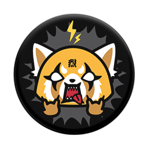 Aggretsuko Black, PopSockets