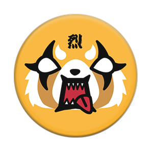 Aggretsuko Face