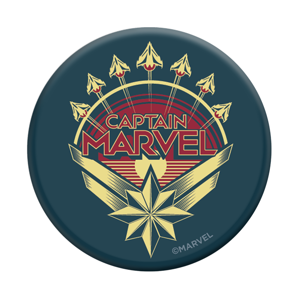 Captain Marvel Logo, PopSockets