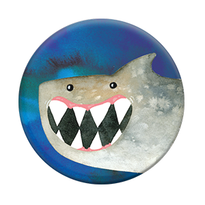 Smiley Shark, PopSockets