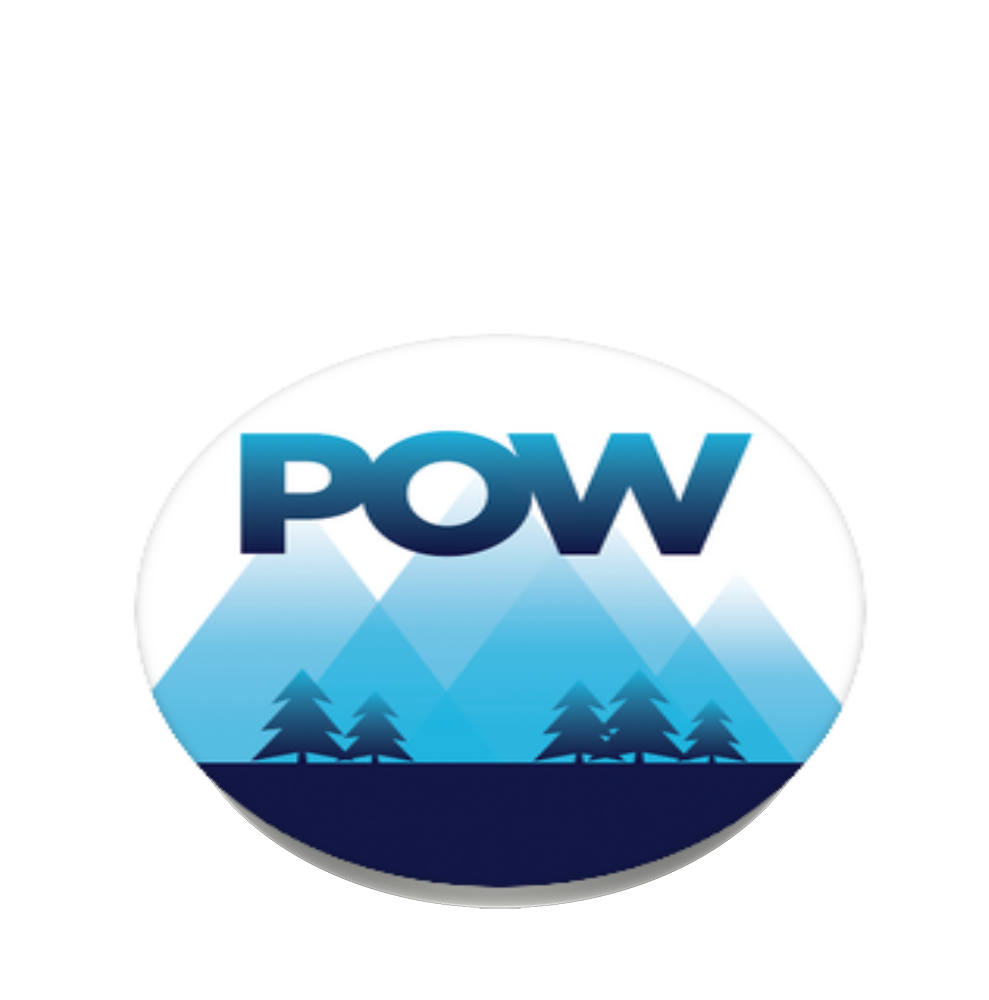 POW Keep Winter Wintery, PopSockets