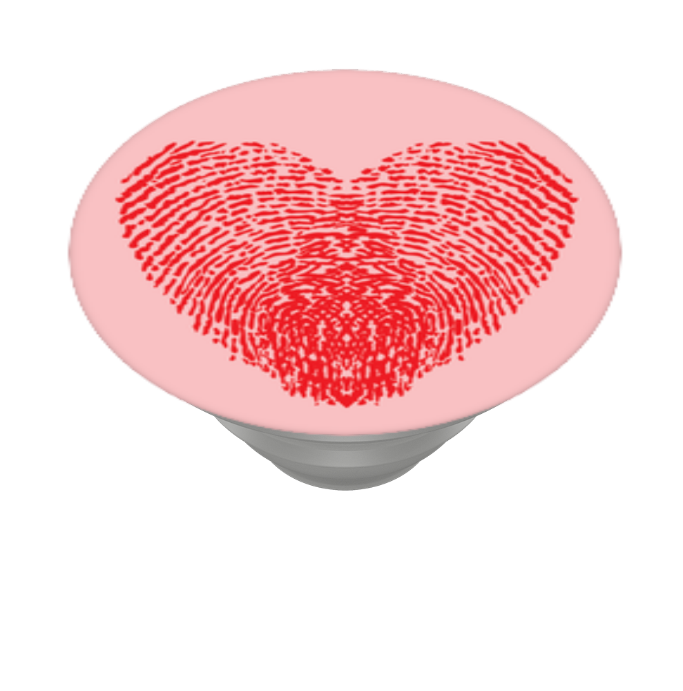 Thumbprint Heart, PopSockets