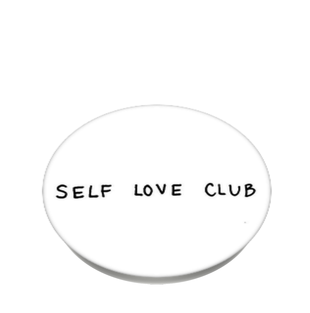 black and white self love, PopSockets