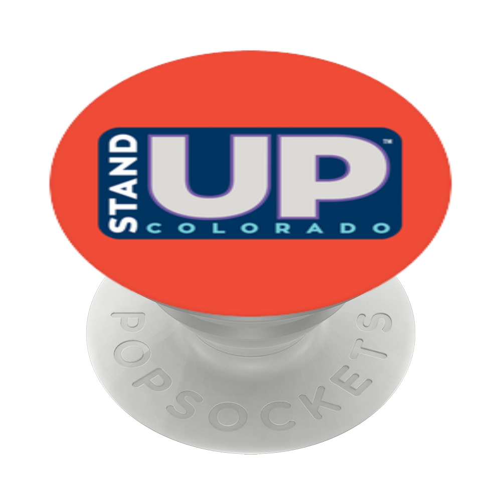 Stand Up Colorado Orange, PopSockets