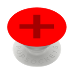 (RED) cross, PopSockets