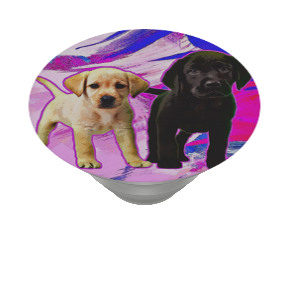 Good pups, PopSockets