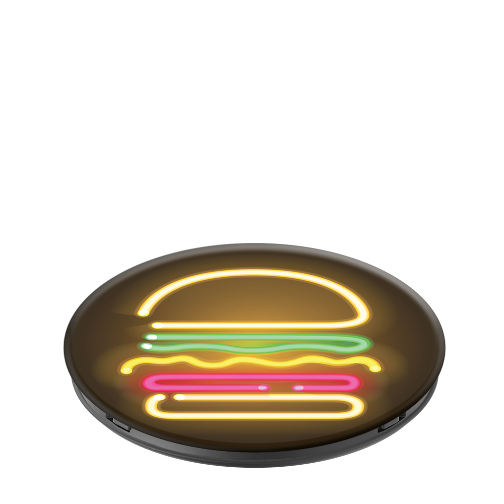 Neon Hamburger, PopSockets