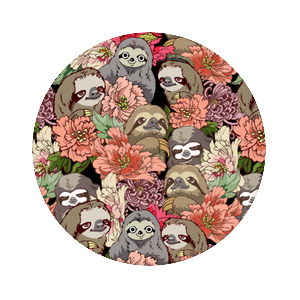 Because Sloths, PopSockets