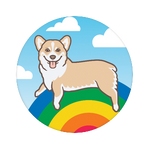 Corgi Over the Rainbow, PopSockets
