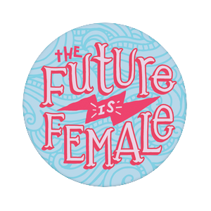 Female Future Sky, PopSockets