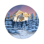 Winter Mountains, PopSockets