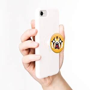 Aggretsuko Face, PopSockets