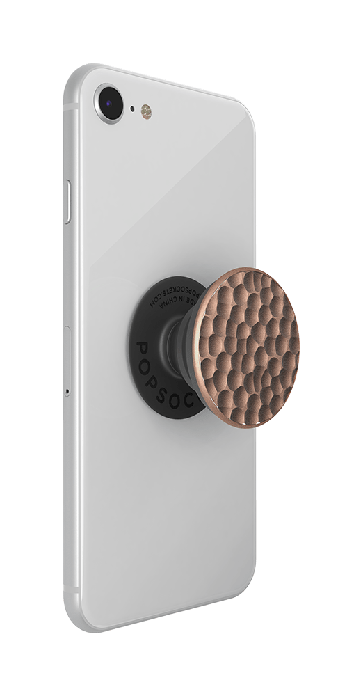 Hammered Metal Rose Gold, PopSockets