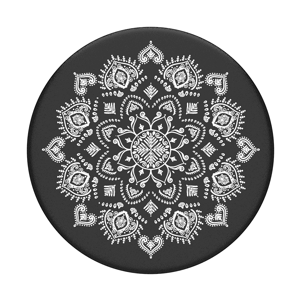 Quiet Darkness Mandala Popsockets Popgrip