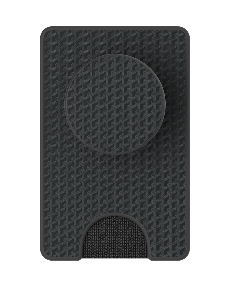 PopWallet+ Black Carbon, PopSockets