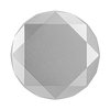 Silver Metallic Diamond