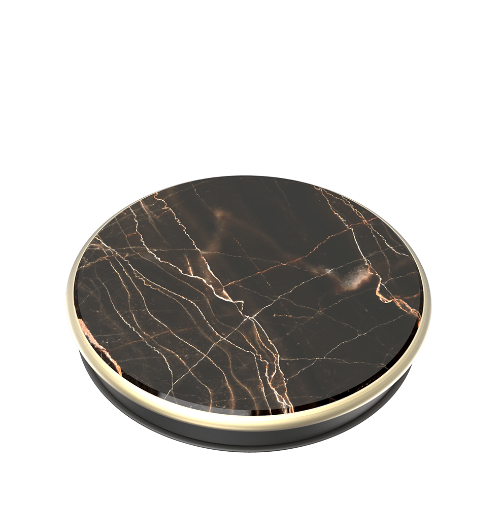 Genuine Nero Gold Marble, PopSockets
