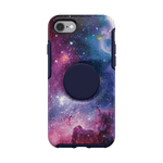 Otter + Pop Blue Nebula Symmetry Series Case, PopSockets