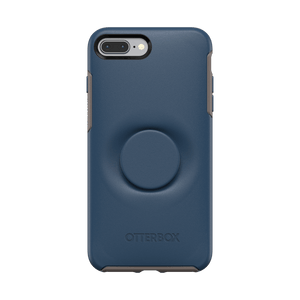 Otter + Pop Go To Blue Symmetry Series Case, PopSockets