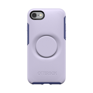 Otter + Pop Lilac Dusk Symmetry Series Case, PopSockets