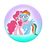Pinkie Pie & Rainbow Dash