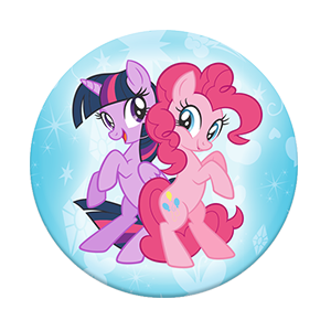 twilight sparkle pinkie pie my little pony popsockets grip
