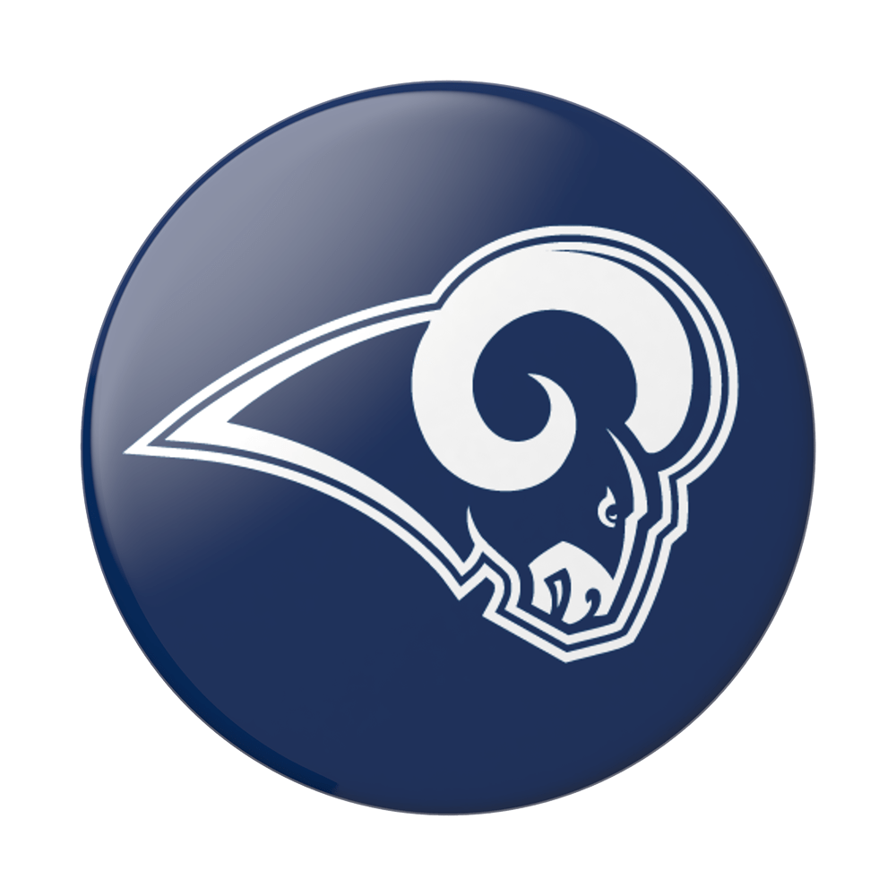 sports shoes e335b 14c42 LA Rams Helmet PopSockets PopGrip