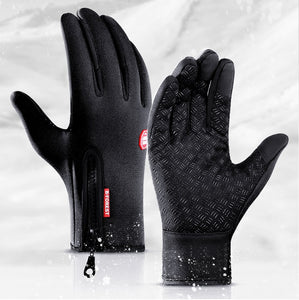Warm outdoor Waterproof and Touch Compatible glove