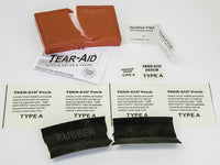 TEAR-AID TYPE A FABRIC PLASTIC REPAIR SEE-THRU PATCH KIT HOLES & TEARS INSTANTLY