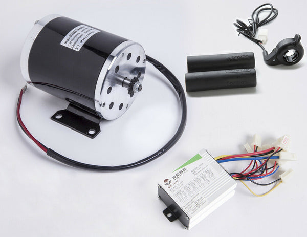 500W 24V electric scooter motor #T8F sprock kit w base+controller+Thumb Throttle