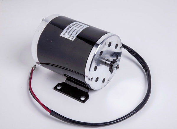 500W 24 V Electric Go-Kart 1020 Motor w Base+Reverse Control Box+Thumb Throttle