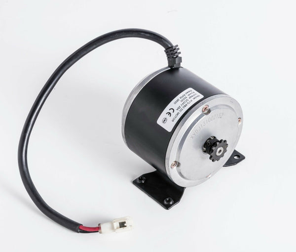 500 Watt 24 Volt XYD-6B2 Electric Motor Currie Technologies w Base for scooter