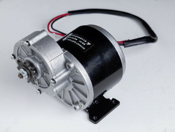 350W 24 V DC electric motor f bicycle bike gokart scooter MY1016z3 gear reducti