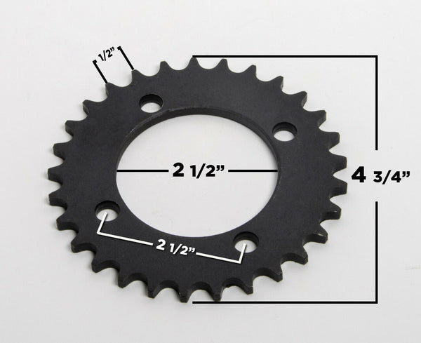 #420 29T 4 hole Sprocket drive gear f ATV UTV DIY GoKart Quad Bike